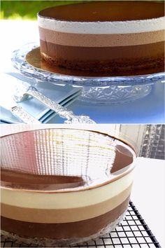 La meilleure recette du gâteau 3 chocolats