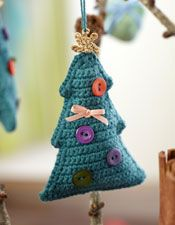 The finest crocheted Christmas ornaments - creative July to July - Femina