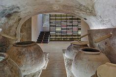 inmat arquitectura renovates cehegin wine school in small murcian town Interior Design Magazine, Murcia, Space Projects, Design Projects, Spanish Architecture, Architecture Design, History Of Wine, Retail Store Design, Supermarket Design