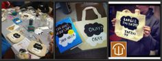 The Fault in our Stars book bag craft...