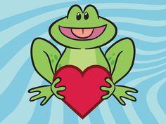 Cartoon Frog | Cartoon Frog