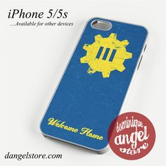 Fallout 4 wellcome home Phone case for iPhone 4/4s/5/5c/5s/6/6 plus
