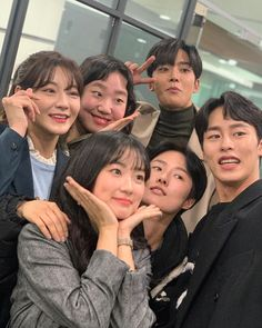 """sweetchaekyung ig update with rowoon"""" Korean Drama List, Korean Drama Quotes, Drama Korea, Korean Couple, Korean Girl, Korean Celebrities, Korean Actors, Hi School Love On, Korean Friends"""