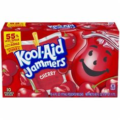 Shop for Kool-Aid Jammers Strawberry Kiwi Flavored Drink at King Soopers. Find quality beverages products to add to your next in-store or ClickList order. Juice Drinks, Fruit Drinks, Beverages, Strawberry Kiwi, Raspberry, Watermelon, Cherry Drink, On The Go Snacks, Couple