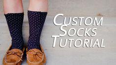 Custom Socks Tutorial
