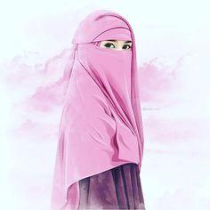 kartun muslimah bercadar Hijab Anime, Anime Muslim, Cartoon Girl Images, Cute Cartoon Girl, Hijabi Girl, Girl Hijab, Cute Babies Photography, Girl Photography, Caricature