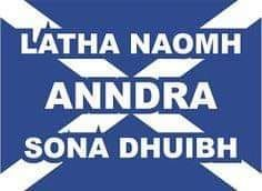 Gaelic Word of the Week – St Andrews Day – Latha Fèill Anndrais This week sees the day of Scotland's Patron Saint – Saint Andrew – Naomh Anndras. Saint Andrews Day, November, is known as Lath Scottish Words, Scottish Gaelic, Scottish Holidays, Flag Of Scotland, Gaelic Words, National Language, Celtic Nations, St Andrews, Patron Saints