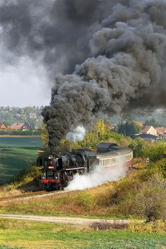 Railroad Pictures, Train Art, Steam Locomotive, The Other Side, All Over The World, Explore, Places, Travel, Europe