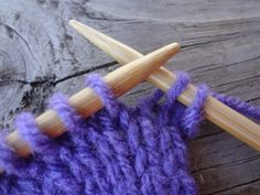 The Basic Knitting Bind Off (Photo Tutorial)