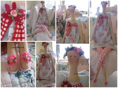 Lydias Treasures: My New Tilda Doll