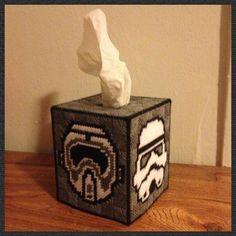 Star Wars Stormtrooper Tissue Box Handmade