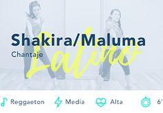 Chantaje Shakira Maluma Reggaeton Baile Fitness