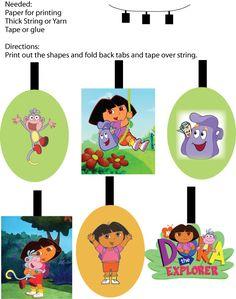 Dora party decor