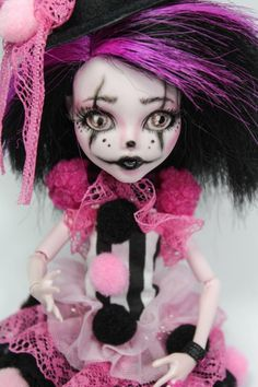 Candy Mysterious OOAK Monster high Puppe benutzerdefinierte