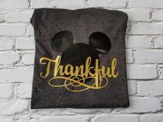 Made with Gold Metallic. Disney Christmas Party, Disney Thanksgiving, Family Thanksgiving, Disney Shirts For Family, Disney Family, Family Shirts, Disney Tops, Disney Stuff, Mickey Shirt
