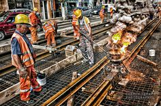 railway workers by Cosmin Ignat on 500px