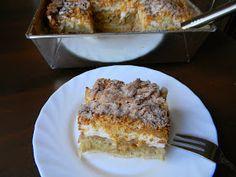 Jabłecznik - ciasto (bezglutenowe) | Kawa z mlekiem - blog kulinarny Moist Cakes, French Toast, Food And Drink, Breakfast, Blog, Morning Coffee, Blogging