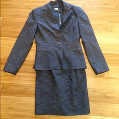 Cremieux Dress Suit Dress and matching blazer. Both size 4. Great condition except for the missing belt but if you are like me, you usually use a different belt. Pair this with brown or nude heels for an ultra professional look! From Dillard's. Cremieux Jackets & Coats Blazers