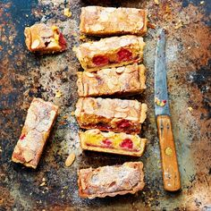 Paul Hollywood recipe for bakewell tart and other baking ideas and dessert recipes from Red Online British Baking Show Recipes, British Bake Off Recipes, Tart Recipes, Baking Recipes, Dessert Recipes, Baking Ideas, Great British Bake Off, Sweet Pie, Sweet Tarts