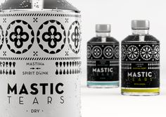 Our new packaging for Mastic Tears has just been launched! Baking Ingredients, Distillery, Cookie Dough, Flask, Barware, Packaging, Box, Gifts, Presents