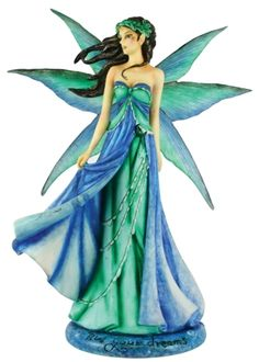 Live Your Dreams Fairy by Jessica Galbreth Fairy Figurine Dragon Figurines, Fairy Figurines, Gothic Angel, Fairy Statues, Fairy Gifts, Movie Props, Cartoon Shows, Fairy Land, Magical Creatures