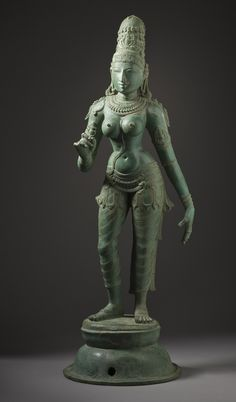 Satyabhama, Tamil Nadu, 12th-13th c. Bronze
