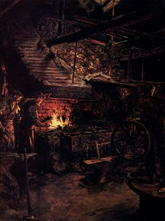 La Forge - Stanhope Alexander Forbes (1857-1947, Ireland)
