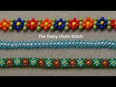 4 DIY Tutorials for Creating Beautiful Beaded Daisy Chains