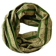 Infinity Scarf The Secret Garden, $28, now featured on Fab.