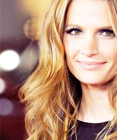 Stana Katic as my main character's big sister Lauren