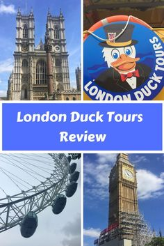 London Duck Tours is a fun way of London sightseeing with kids. Here is our London Duck Tours review of this fun London sightseeing tour.