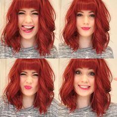Piękne rude włosy!