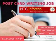 writing jobs please us ntsinfotech com nts nts infotech postcard writing job help desk nts infotech technical support service provider for all online