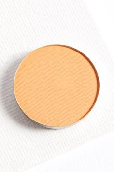 Running Late matte creamy peach orange pressed powder eye shadow