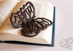 Cómo hacer mariposas de chocolate para decorar