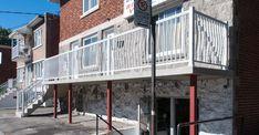 Réparation d'escalier et balcon en béton Construction, Outdoor Decor, Home Decor, Building, Decoration Home, Room Decor, Interior Design, Home Interiors, Interior Decorating