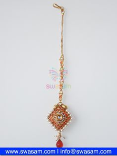 Indian Jewelry Store | Swasam.com: Tikka with Perls and White Stones - Tikka - Jewelry Shop to Buy The Best Indian Jewelry  http://www.swasam.com/jewelry/tikka/tikka-with-perls-and-white-stones-1457.html?___SID=U  #indianjewelry #indian #jewelry #tikka