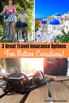Travel insurance for mature Canadians is essential when you travel! Make sure that your medical needs are taken care of while you're abroad. All the tips you need are here as well as the best choices FAQ's and more! Medical Travel Insurance, International Travel Insurance, Travel Insurance Reviews, Travel Insurance Companies, Health Insurance, Solo Travel Tips, Packing Tips For Travel, Travel Hacks, Europe Packing