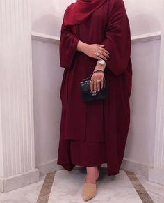 Abaya Fashion, Muslim Fashion, Modest Fashion, Hijab Fashionista, Hijab Style Dress, Hijab Outfit, Hijab Style Tutorial, Mode Abaya, Business Outfits Women