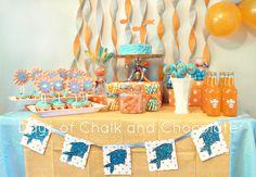 goldfish Birthday Party
