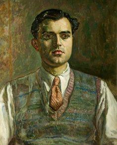 'Self Portrait' by Michael Rothenstein.