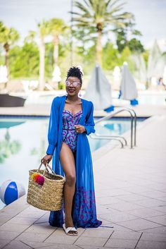 Ankara swimsuit by Yetunde Sarumi | Titi's Passion