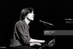 Jackson Browne performing at a 'Ban The Dam' concert at the Beacon Theater in New York City on October 12, 1991.