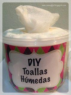 DIY: toallas húmedas caseras | Manualidades