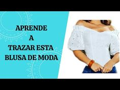 APRENDE A HACER PATRÓN DE BLUSA ESCOTE BANDEJA - YouTube Off Shoulder Blouse, Shoulder Dress, My Job, Berta, Youtube, Women, Fashion, Vestidos, Sewing Tutorials