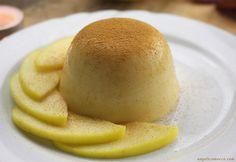 Budino alle mele vegan, senza glutine e senza zucchero