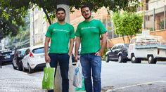 Criada por um português e um norte-americano, a plataforma Carrinho Em Casa entrega compras na casa do cliente em, no mínimo, duas horas
