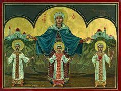 Synaxarion de Santa Sofia e suas três filhas Fé, esperança e amor | Mistagogia CENTRO DE RECURSOS