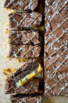 Shortbread Brownies - can't decide between buttery shortbread and fudgy brownies? Enjoy the best of both worlds.