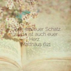 Matthäus 6:21